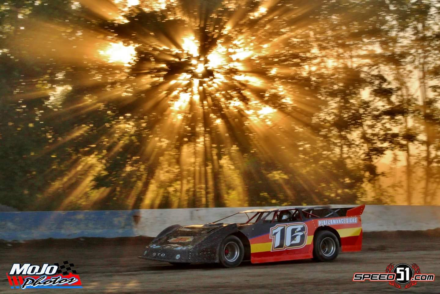 Aaron Jacobs #16 Sunburst